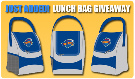 LUNCH BAG GIVEAWAY