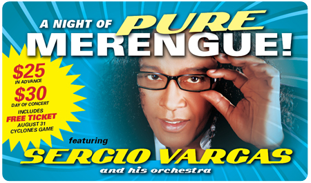 MERENGUE CONCERT AUGUST 14