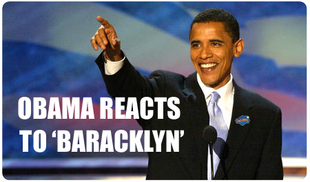 OBAMA REACTS TO