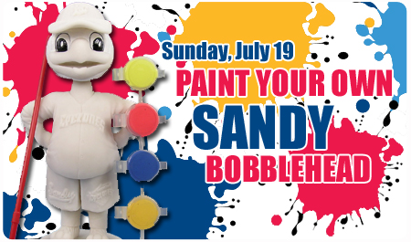 PAINT YOUR OWN BOBBLEHEAD
