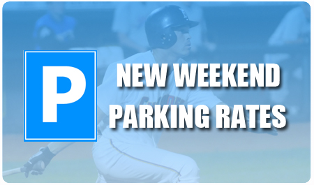 NEW WEEKEND PARKING RATES