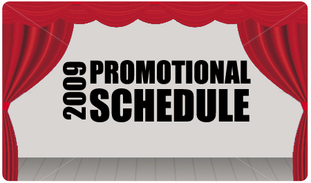 PROMOTIONAL SCHEDULE UPDATE