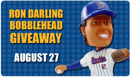 RON DARLING BOBBLEHEAD