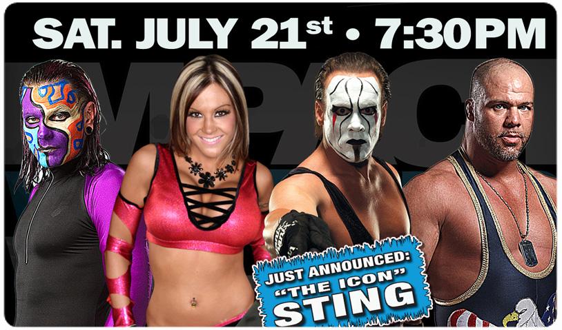 STING ADDED TO TNA WRESTLING - JULY 21st