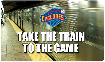 TAKE THE TRAIN TO THE GAME
