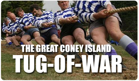 CONEY ISLAND TUG OF WAR