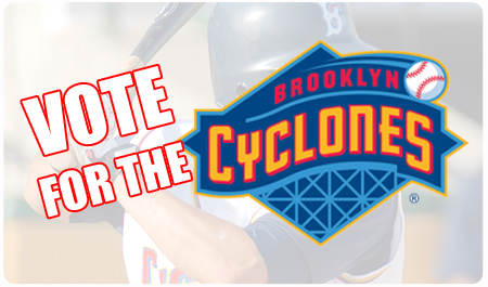 VOTE FOR THE CYCLONES' LOGO